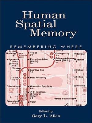 Human Spatial Memory - Remembering Where (Electronic book text): Gary L. Allen