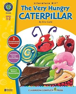 A Literature Kit for the Very Hungry Caterpillar, Grades 1-2 (Paperback): Marie-Helen Goyetche, Eric Carle