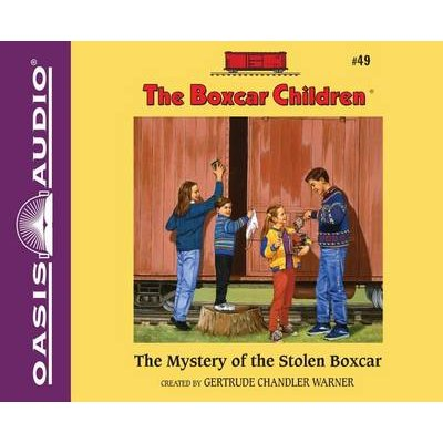 The Mystery of the Stolen Boxcar (Library Edition) (Standard format, CD, Library ed.): Gertrude Chandler Warner