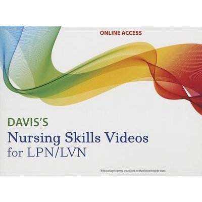 Davis's Nursing Skills Videos for LPN/LVN Streaming Access Card (Cards, 2nd ed.): Marti A. Burton, Linda Ludwig