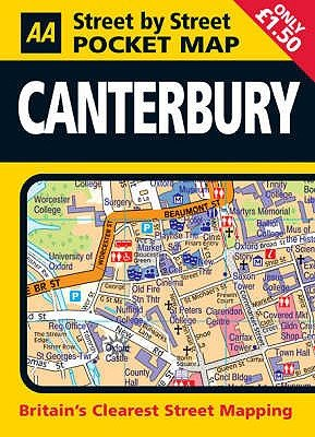 Pocket Map Canterbury (Sheet map, 3rd Revised edition):