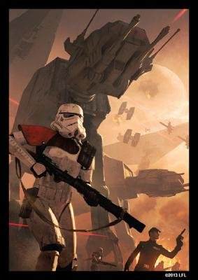 Star Wars Limited Edition Art Sleeves - Trooper Assault (Game):