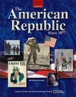 The American Republic Since 1877, Mcgraw-Hill Learning Network Online Student Edition, Learning Store Purchase (CD-ROM):...