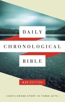 Daily Chronological Bible-KJV (Paperback): Holman Bible Staff