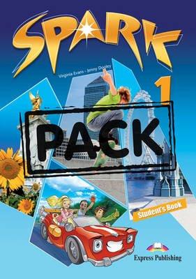Spark, Level 1 - Student's Pack (International); Monstertrackers (Paperback): Virginia Evans, Jenny Dooley