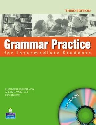 Grammar Practice Intermediate Students Book No key ( New Edition ) for pack (Paperback): Steve Elsworth, Elaine Walker