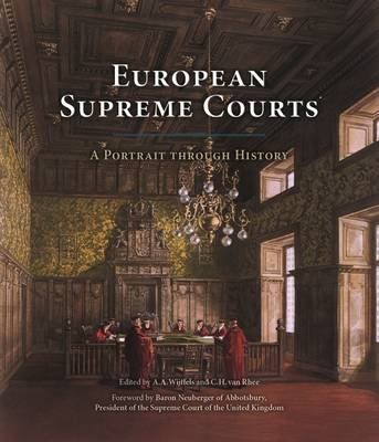 European Supreme Courts: A Portrait Through History (Hardcover, Main): Alain Wijffells