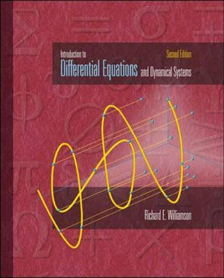 Introduction to Differential Equations and Dynamical Systems (Hardcover, 2): Richard E. Williamson