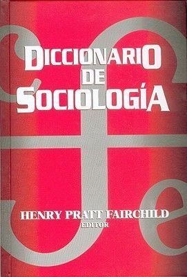 Diccionario de Sociologia (English, Spanish, Hardcover): H. P. Fairchild