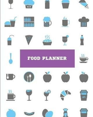 food planner weekly meal planner with grocery list 8x10 110page