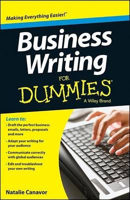 Business Writing for Dummies (Electronic book text): Natalie Canavor