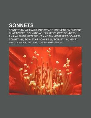 Sonnets - Sonnets by William Shakespeare, Sonnets on Eminent