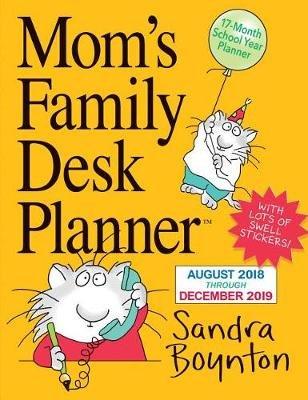 2019 Moms Family Desk Calendar Wall Calendar Calendar Sandra