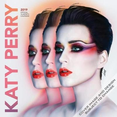Katy Perry 2019 Square Wall Calendar (Calendar): Inc Browntrout Publishers