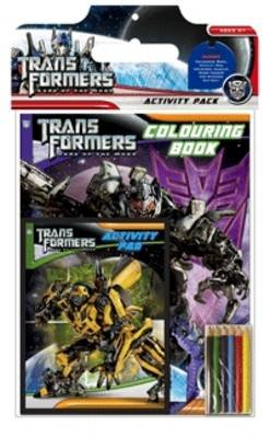 Transformers 3 - Dark of the Moon Activity Pack (Novelty book):