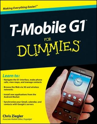 T-Mobile G1 For Dummies (Electronic book text, 1st edition): Chris Ziegler