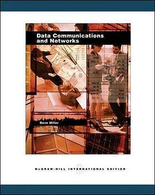 Data Communications and Networks (Paperback, New edition): David Miller