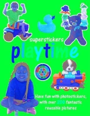 Sticker Playbook Playtime (Paperback):
