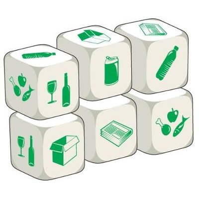 Talking Dice Add-ons: Recycling (Paperback): Stephane Derone