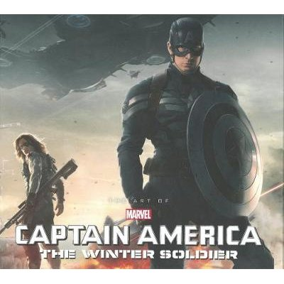 Marvel's Captain America: The Winter Soldier: The Art Of The Movie Slipcase (Hardcover): Marie Javins