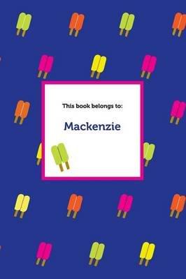 Etchbooks MacKenzie, Popsicle, Wide Rule (Paperback): Etchbooks