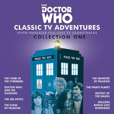Doctor Who: Classic TV Adventures - Seven Full-Cast BBC TV Soundtracks (Standard format, CD, Unabridged): Kit Pedler, Gerry...