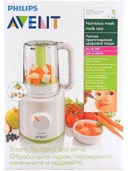 Philips AVENT Combined Steamer and Blender: