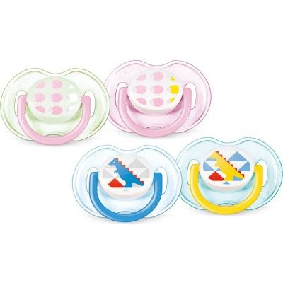 Philips AVENT Classic Soothers Special Edition (2 Pack) (0-6 Months):