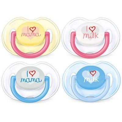 Philips AVENT Classic Orthodontic Pacifiers (2 Pack):