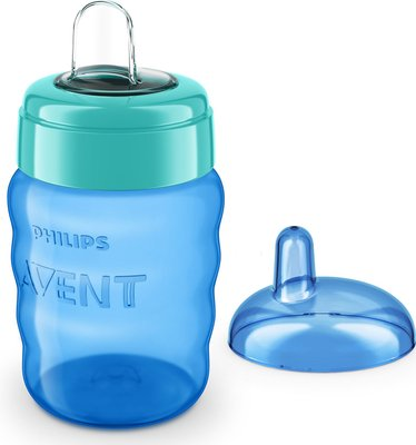Philips AVENT Easy Sip Spout Cup 260 ml (Blue and Green):
