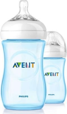 Philips AVENT Natural Feeding Bottle 260ml (Pack of 2) (1 Month+):
