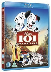 101 Dalmatians (English & Foreign language, Blu-ray disc): Rod Taylor, Cate Bauer, Betty Lou Gerson, Pat O'Malley, Lisa...