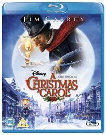 A   Christmas Carol (English & Foreign language, Blu-ray disc): Gary Oldman, Jim Carrey, Colin Firth, Robin Wright Penn, Cary...