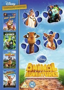 Animal Adventures (DVD): Roseanne Barr, Judi Dench, Jennifer Tilly, Randy Quaid, Charles Dennis, Nicolas Cage, Sam Rockwell,...