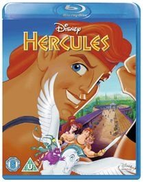 Hercules (Disney) (English, French, German, Blu-ray disc): Danny DeVito, James Woods, Tate Donovan, Joshua Keaton, Susan Egan,...