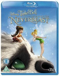 Tinker Bell and the Legend of the NeverBeast (English, Italian, Blu-ray disc): Mae Whitman, Anjelica Huston, Rosario Dawson,...