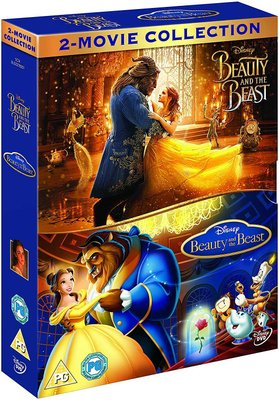 Beauty And The Beast: 2-Movie Collection - Live Action / Animation (DVD):