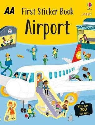 First Sticker Book Airport (Paperback):