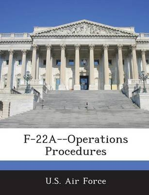 F-22a--Operations Procedures (Paperback):