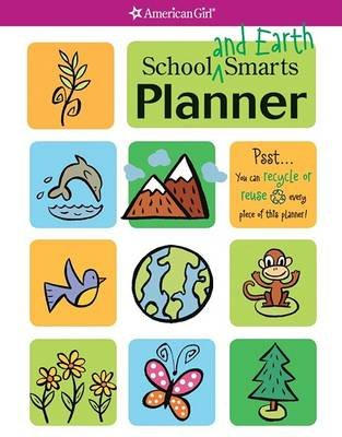 School and Earth Smarts Planner (Spiral bound): Erin Falligant