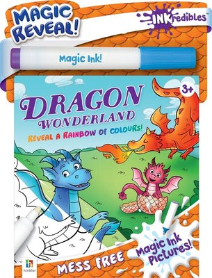 Inkredibles: Magic Ink Pictures Dragon Wonderland (Kit): Hinkler Books Hinkler Books