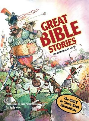 Great Bible Stories (Hardcover): Ben Alex