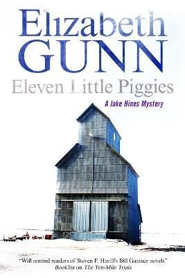 Eleven Little Piggies (Large print, Hardcover, Large type / large print edition): Elizabeth Gunn