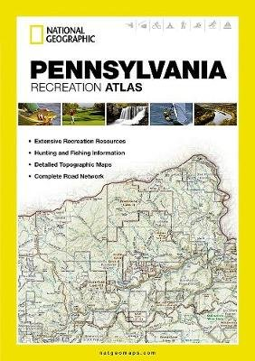 Pennsylvania - State Rec Atlas (Paperback): National Geographic Maps