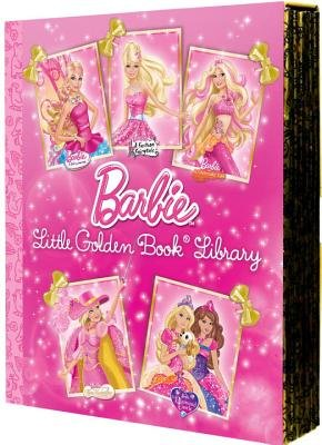 Barbie Little Golden Book Library (Hardcover): Various