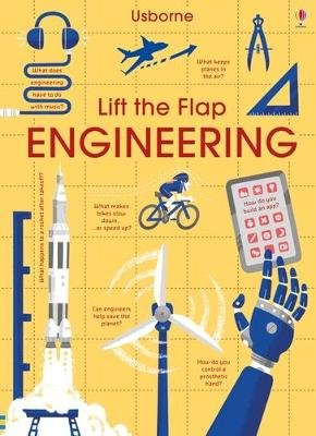 Lift-the-Flap Engineering (Board book): Rose Hall, Alex Frith