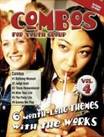 Combos for Youth Groups, v. 4 - 6 Month-long Themes with the Works (Paperback): David Stewart, Barb McCreight, Jason Schultz,...