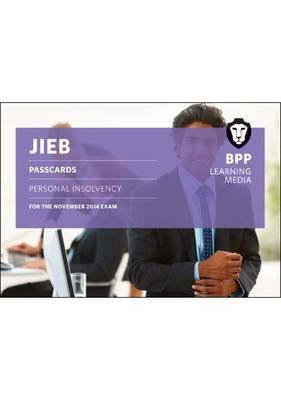 JIEB Personal Insolvency - Passcards (Spiral bound): BPP Learning Media