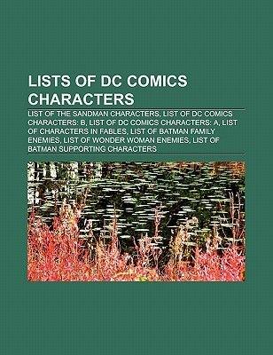 Lists of DC Comics Characters - List of the Sandman Characters, List