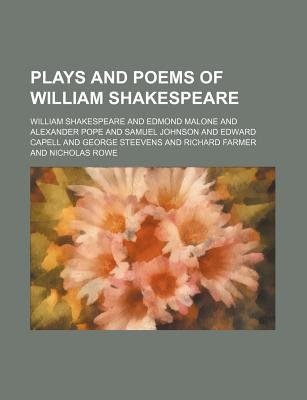 The Plays and Poems of William Shakspeare Volume 3 (Paperback): William Shakespeare